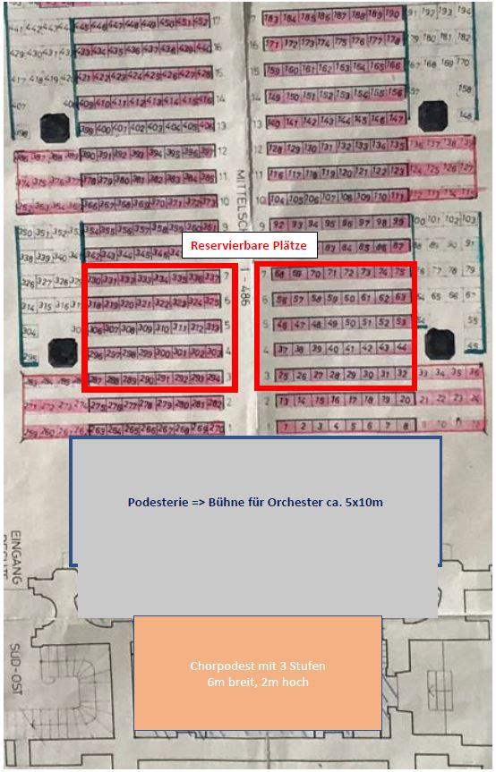 Sitzplan Linsebühl